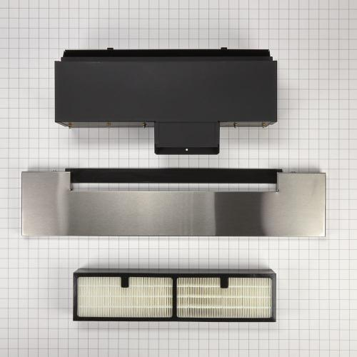 Range Ductless Downdraft Vent Kit, Stainless Steel