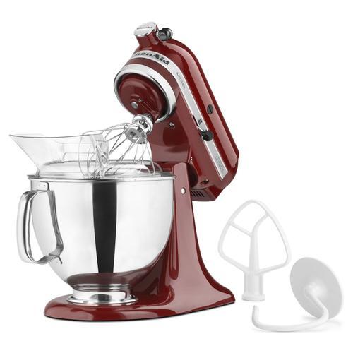 KitchenAid - Artisan® Series 5 Quart Tilt-Head Stand Mixer Gloss Cinnamon