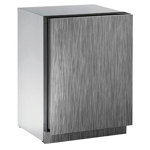 """U-Line - 2224r 24"""" Refrigerator With Integrated Solid Finish and Field Reversible Door Swing (115 V/60 Hz Volts /60 Hz Hz)"""