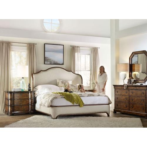 Bedroom Archivist California King Upholstered Bed