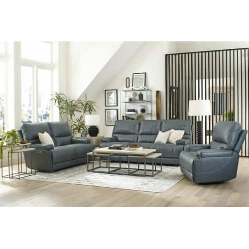 Parker House - WHITMAN - VERONA AZURE - Powered By FreeMotion Power Reclining Collection