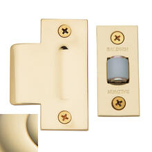 Lifetime Polished Brass Adjustable Roller Latch