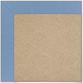 "Creative Concepts-Cane Wicker Canvas Air Blue - Rectangle - 24"" x 36"""