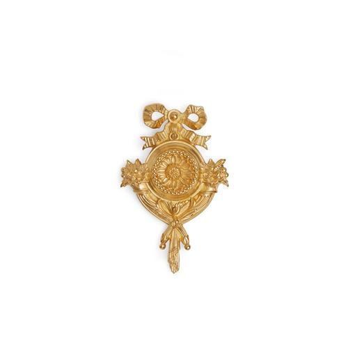 Burnished Gold Cornucopia Door Bell Cover