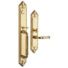 Non-Lacquered Brass Edinburgh Entrance Trim