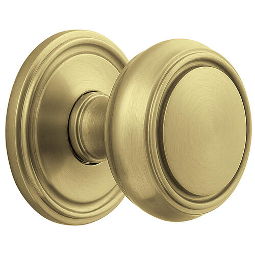 Baldwin - Lifetime Satin Brass 5068 Estate Knob