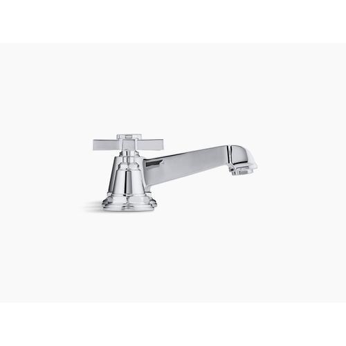 Vibrant Brushed Nickel Widespread Bathroom Sink Faucet With Cross Handles
