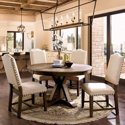Furniture of America - Julia Round Dining Table