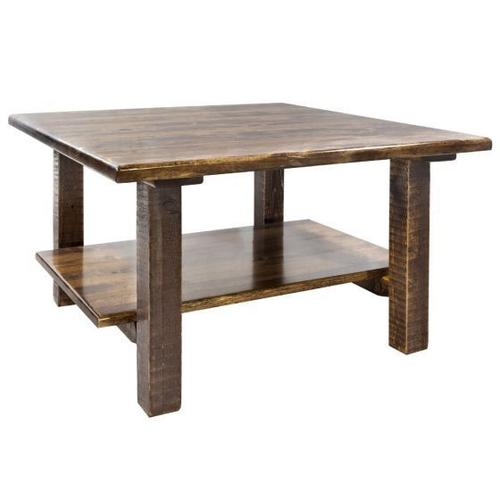 Montana Woodworks - Homestead Collection Cocktail Table, Stain and Lacquer Finish