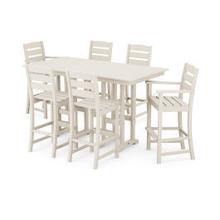 View Product - Lakeside 7-Piece Bar Set in Sand