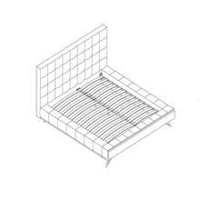 See Details - King Platform Bed - Beige
