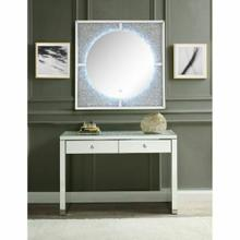 ACME Nowles Wall Decor (LED) - 97592 - Mirrored & Faux Stones