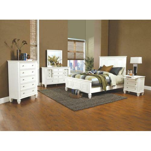 Coaster - Ca King 5pc Set (KW.BED, Ns, Dr, Mr, Ch)