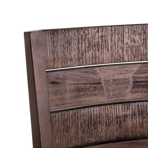 Urban Loft Dining Chair Dark Brown