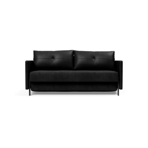 """CUBED 02 DELUXE 63""""X79"""", FRONT/MID SEAT/CUBED 02 DELUXE SOFA BACK, 63""""X79""""/CUBED DELUXE ARM RESTS, 1 SET/CUBED QUEEN SOFA LEGS FOR ARMS, MAT BLK"""