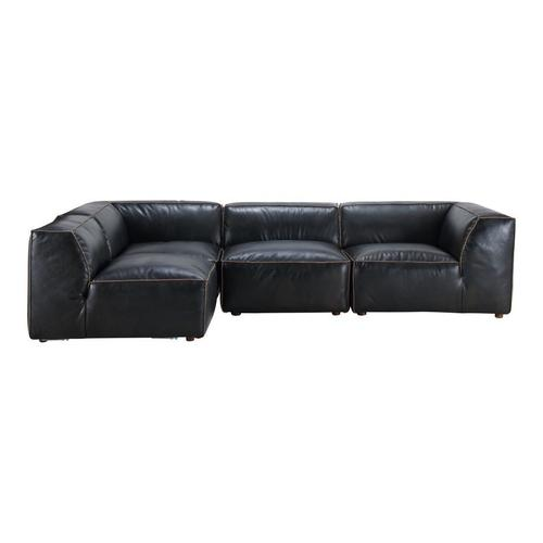 Moe's Home Collection - Luxe Signature Modular Sectional Antique Black