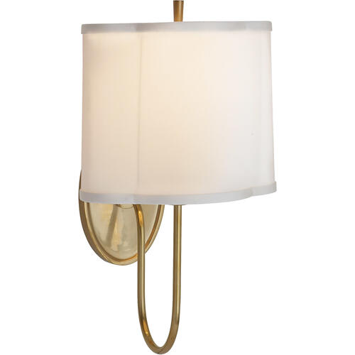 Barbara Barry Simple 1 Light 9 inch Soft Brass Decorative Wall Light