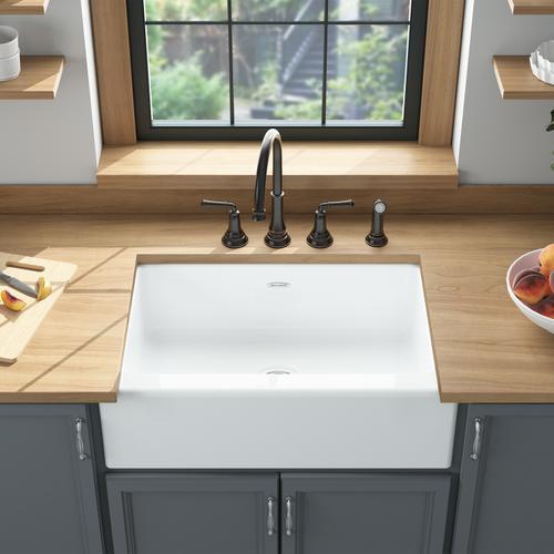 American Standard - Delancey 30x22-inch Farmhouse Sink  American Standard - Brilliant White