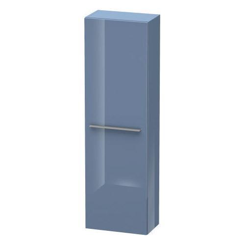 Duravit - Semi-tall Cabinet, Stone Blue High Gloss (lacquer)