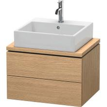 Vanity Unit For Console Compact, European Oak (decor)
