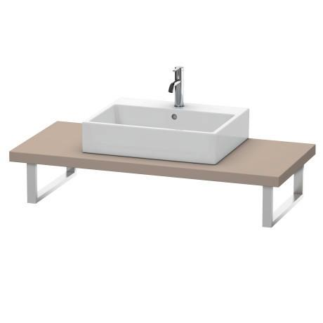 Console For Above-counter Basin And Vanity Basin, Basalt Matte (decor)