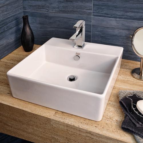 Loft Counter Vessel Sink - White