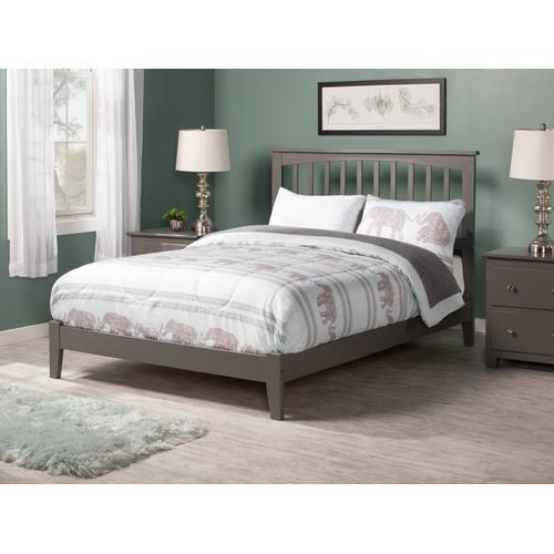 Atlantic Furniture - Mission Full Bed in Atlantic Grey