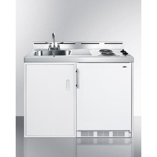 """48"""" Wide All-in-one Kitchenette"""