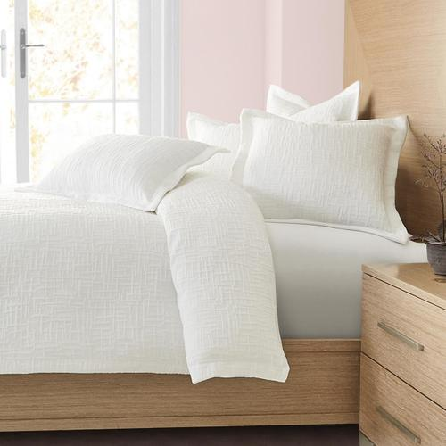 6pc King Duvet Set White