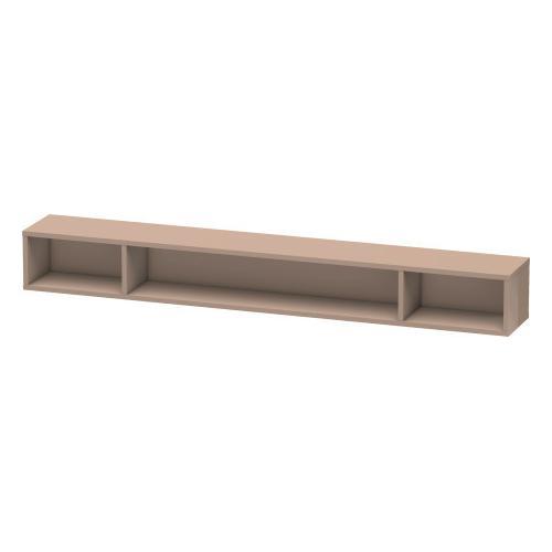 Shelf Element (horizontal), Cappuccino High Gloss (lacquer)