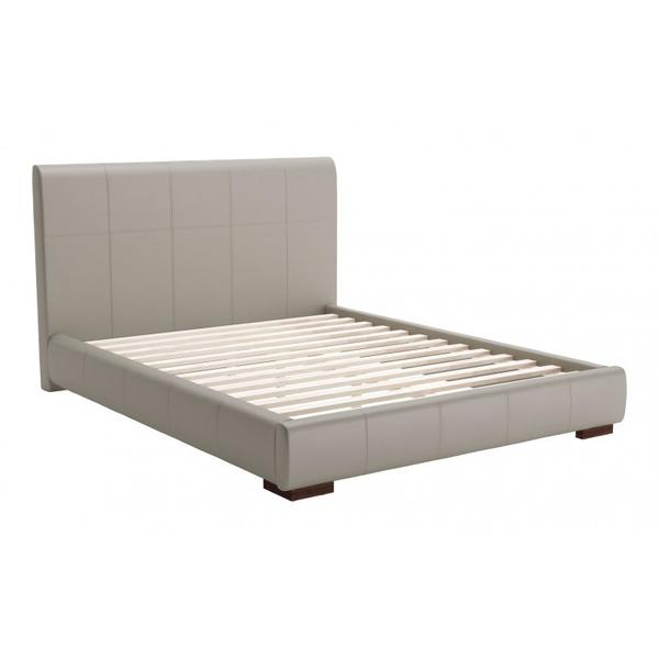 Amelie Queen Bed Taupe