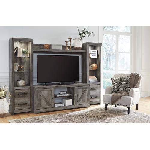 Wynnlow 4 Piece Entertainment Set Gray