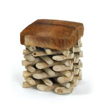 View Product - Log Cabin Stool