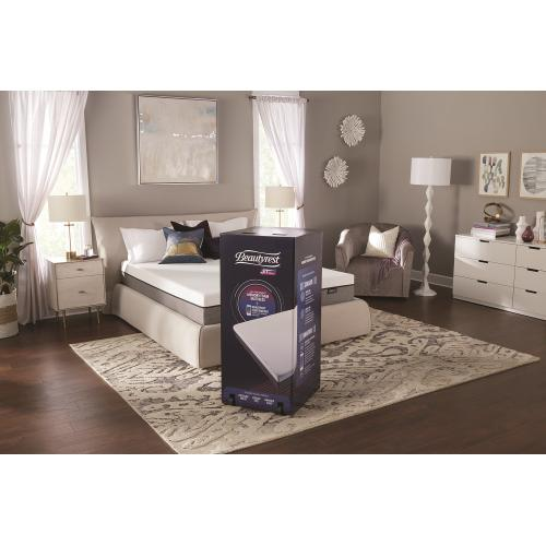 "BeautyRest ST 10"" Memory Foam - Mattress-In-A-Box - King"