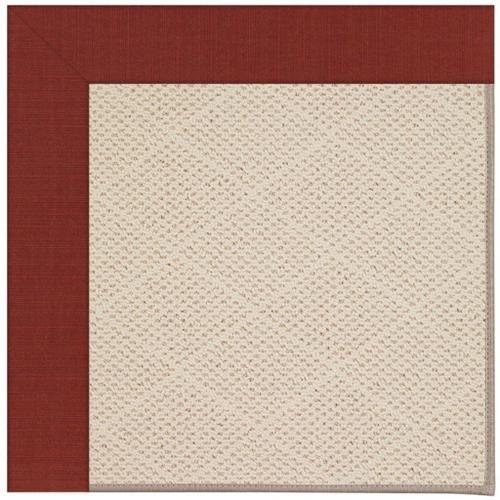 "Creative Concepts-White Wicker Dupione Henna - Rectangle - 24"" x 36"""