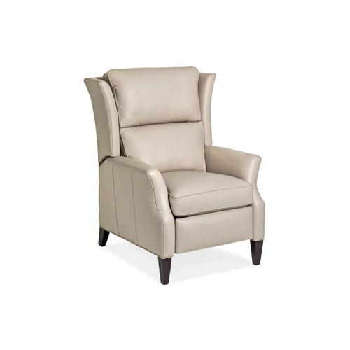 Hancock and Moore - 1180-PRB-CT SAMSON RECLINER W/BATTERY W/CUT BACK TRACK ARM