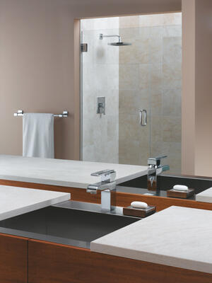 "Chrome 24"" Towel Bar Product Image"