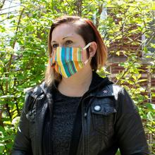 See Details - Reusable Face Mask in Tracon Stripe
