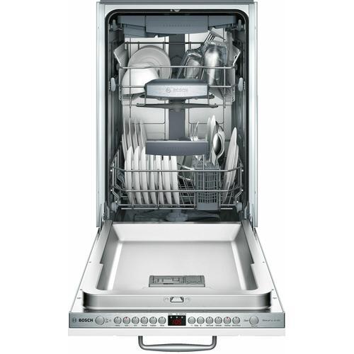 "Bosch - ADA 18"" 800 Series Custom Panel, 6/5 Cycles, 3rd Rck, 44 dBA, RckMatic,10 Pl Stgs, InfoLight - CP"