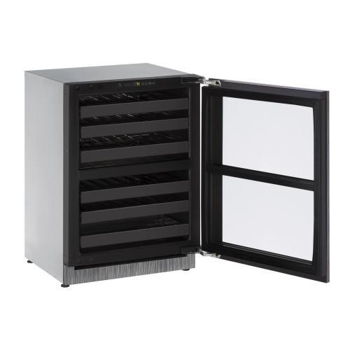 "24"" Dual-zone Wine Refrigerator With Integrated Frame Finish (230 V/50 Hz Volts /50 Hz Hz)"