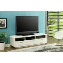 ACME Randell TV Stand - 91300 - White for Flat Screens TVs up to 60""