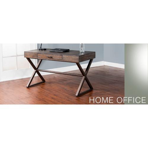 Sunny Designs - Tyler Writing Desk w/ Metal Base