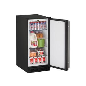 "U-Line1215r 15"" Refrigerator With Stainless Solid Finish (115 V/60 Hz Volts /60 Hz Hz)"