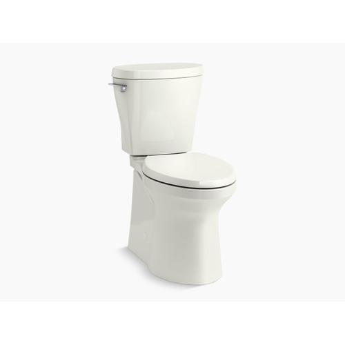 Dune Betello With Continuousclean Comfort Height Two-piece Elongated 1.28 Gpf Toilet With Continuousclean, Skirted Trapway, Revolution 360 Swirl Flushing Technology and Left-hand Trip Lever, Seat Not Included