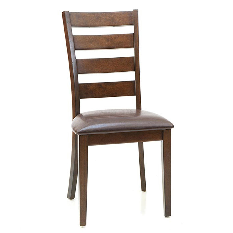 Intercon FurnitureKona Ladder Back Chair  Raisin