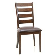 Kona Ladder Back Side Chair  Raisin