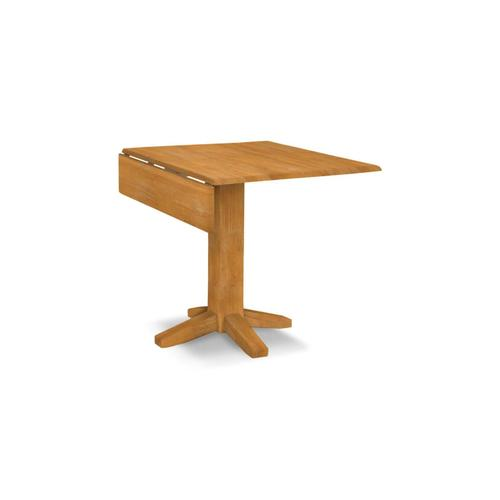 Product Image - Square Dropleaf Pedestal Table