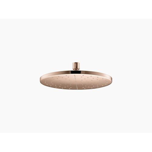 """Vibrant Rose Gold 10"""" Rainhead With Katalyst Air-induction Technology, 2.5 Gpm"""
