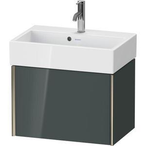 Duravit - Vanity Unit Wall-mounted Compact, Dolomiti Gray High Gloss (lacquer)