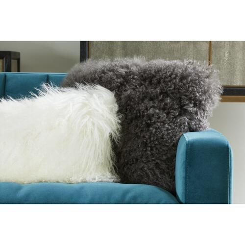 Moe's Home Collection - Lamb Fur Pillow Grey